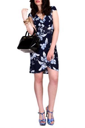 Платье FRANCESCA LUCINI. Цвет: голубая фрезия
