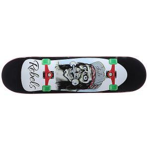 Дека для скейтборда  Old School Black 31.75 x 8.1 (20.6 см) Rebels. Цвет: мультиколор