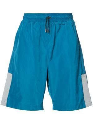 Спортивные шорты с поясом на шнурке Christopher Raeburn. Цвет: синий