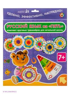 Настольная игра Карусель. Русский язык АЙРИС-пресс. Цвет: фиолетовый, зеленый
