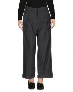 Повседневные брюки PAS DU TOUT. Цвет: стальной серый