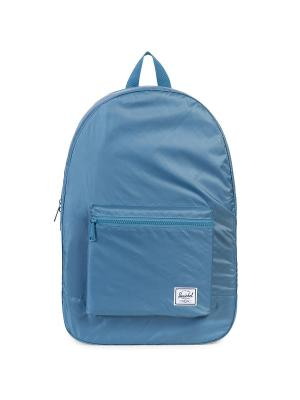 Рюкзак PACKABLE DAYPACK (A/S) Herschel. Цвет: синий