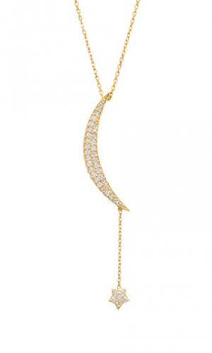 Цепочка natalie b large moon & star Jewelry. Цвет: металлический золотой