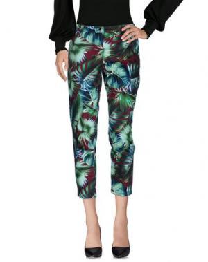 Повседневные брюки WHITE SAND 88. Цвет: зеленый