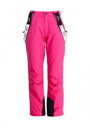 Брюки горнолыжные FIVE seasons. Цвет: розовый