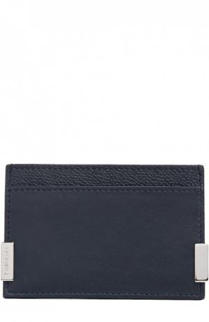 Футляр для кредитных карт Balenciaga. Цвет: синий