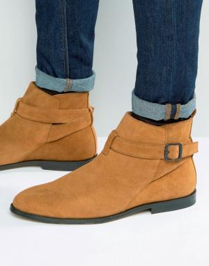 KG Kurt Geiger Замшевые ботинки Lester Jodphur. Цвет: рыжий