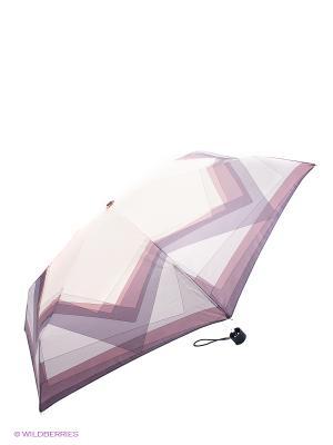 Зонт Fabretti. Цвет: сиреневый, белый, серебристый