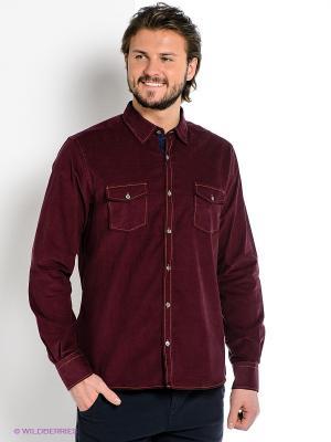 Рубашка MONDIGO. Цвет: сливовый