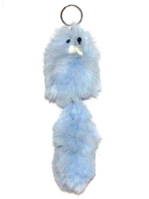 Брелок Lola. Цвет: серо-голубой