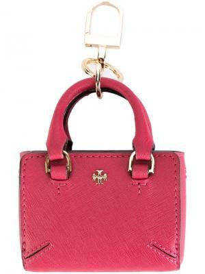 Брелок Robinson Tory Burch. Цвет: розовый и фиолетовый