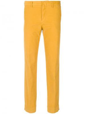 Строгие брюки Pt01. Цвет: жёлтый и оранжевый