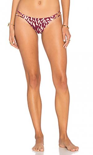Низ бикини bali piercing Vix Swimwear. Цвет: вишня