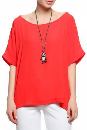 Блуза XS MILANO. Цвет: красный