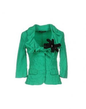 Пиджак ROBERTA SCARPA. Цвет: зеленый
