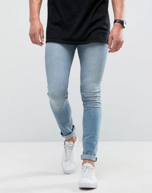 Loyalty & Faith Голубые супероблегающие джинсы and. Цвет: синий