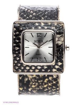 Часы Bora. Цвет: черный