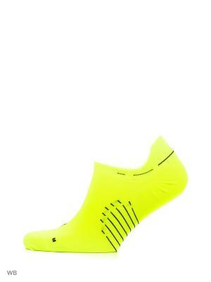 Носки U NK ELT LTWT NS Nike. Цвет: желтый