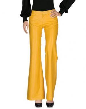 Повседневные брюки SO NICE. Цвет: охра