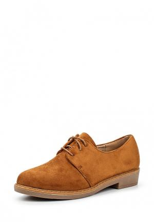 Ботинки Coco Perla. Цвет: коричневый