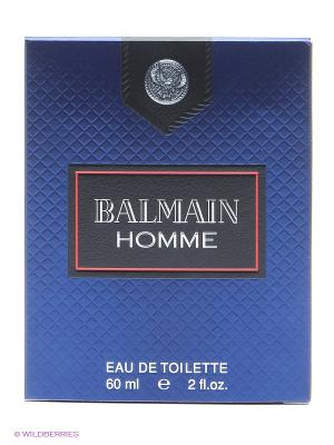 Туалетная вода Balmain Homme, 60 мл спрей. Цвет: синий