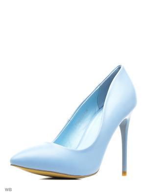 Туфли Winzor. Цвет: голубой