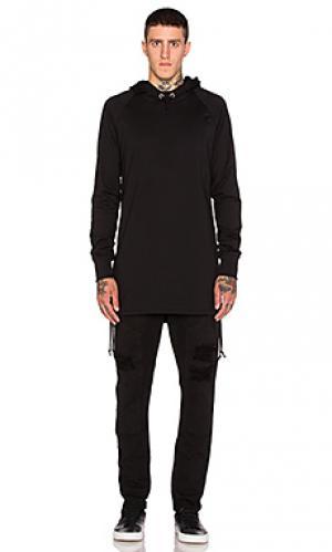 Пуловер allen Drifter. Цвет: черный