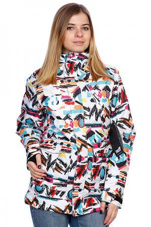 Куртка женская  Wmn Wonder Multi Neff. Цвет: белый,черный