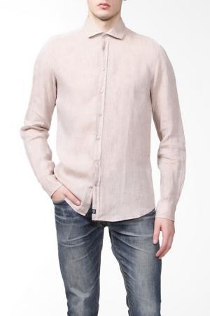 Рубашка Strellson. Цвет: светло-коричневый