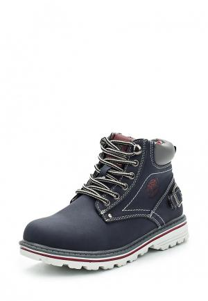 Ботинки Shuzzi. Цвет: синий