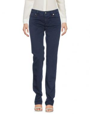 Повседневные брюки TRAMAROSSA. Цвет: темно-синий