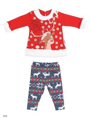 Комплекты одежды для малышей Mini. Цвет: красный