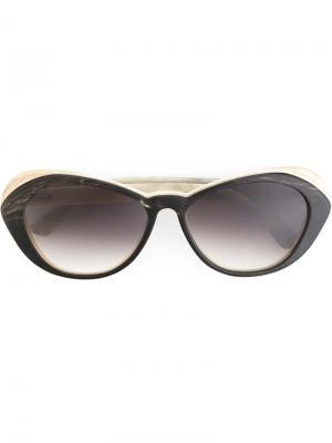 Солнцезащитные очки  Juliana Ralph Vaessen. Цвет: коричневый