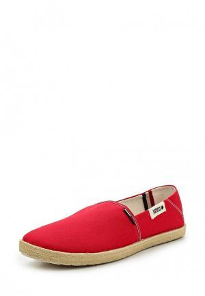 Эспадрильи Tommy Jeans. Цвет: красный