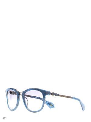Солнцезащитные очки VW 913S 03 Vivienne Westwood. Цвет: синий, коричневый