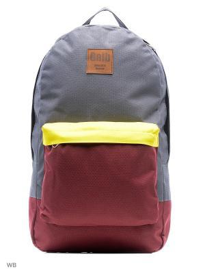 Рюкзак Gaib. Цвет: бордовый, серый