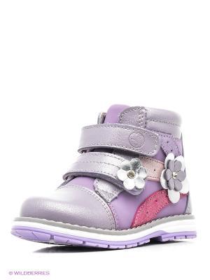 Ботинки Flamingo. Цвет: лиловый