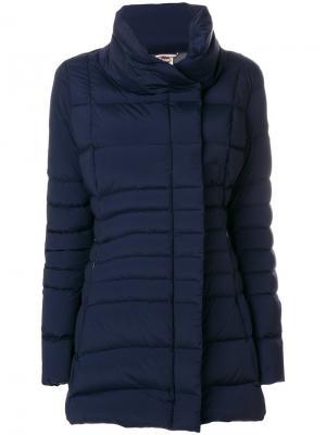 Пальто-пуховик Millennium Colmar. Цвет: синий