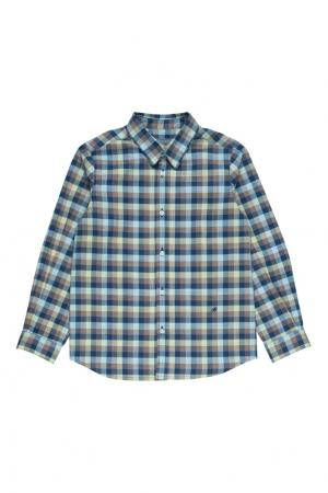 Рубашка в клетку ACTEUR Bonpoint. Цвет: зеленый