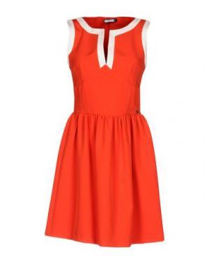 Короткое платье FLY GIRL. Цвет: красный
