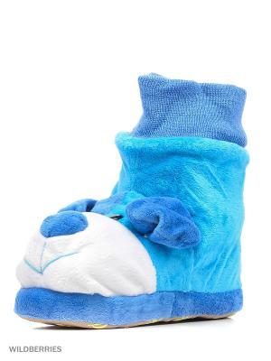 Обувь домашняя Effa. Цвет: синий