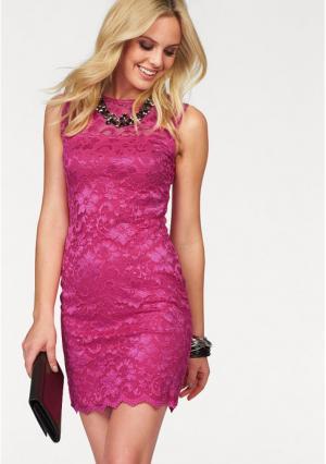Платье MELROSE. Цвет: зелено-синий, кремовый, черный, ярко-розовый