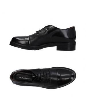 Обувь на шнурках LAURA BELLARIVA. Цвет: черный