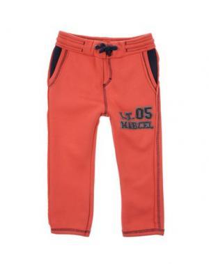 Повседневные брюки LE PETIT MARCEL. Цвет: красный