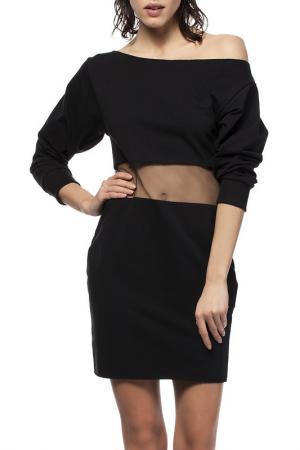 Платье BE WEAR. Цвет: черный