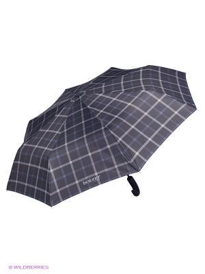 Зонты Isotoner. Цвет: черный, синий, серый