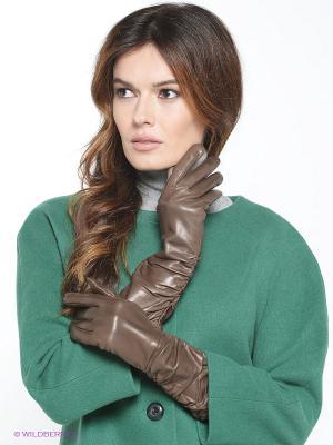 Перчатки Karma. Цвет: серый, серо-коричневый