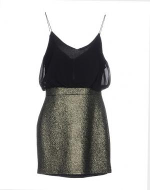 Короткое платье ANGEL EYE. Цвет: черный