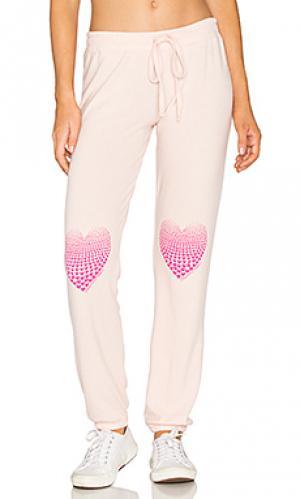 Свободные брюки willow Lauren Moshi. Цвет: розовый