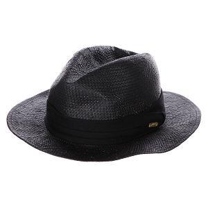 Шляпа женская  Sand Fedora Black Stussy. Цвет: черный